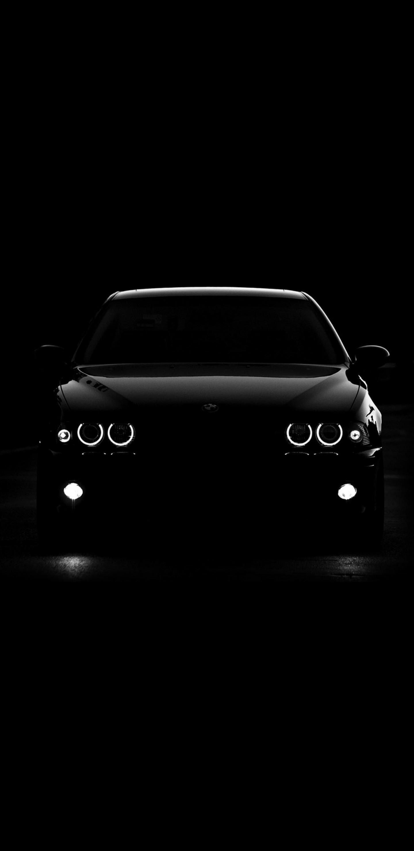 全面屏手机壁纸-黑色酷车