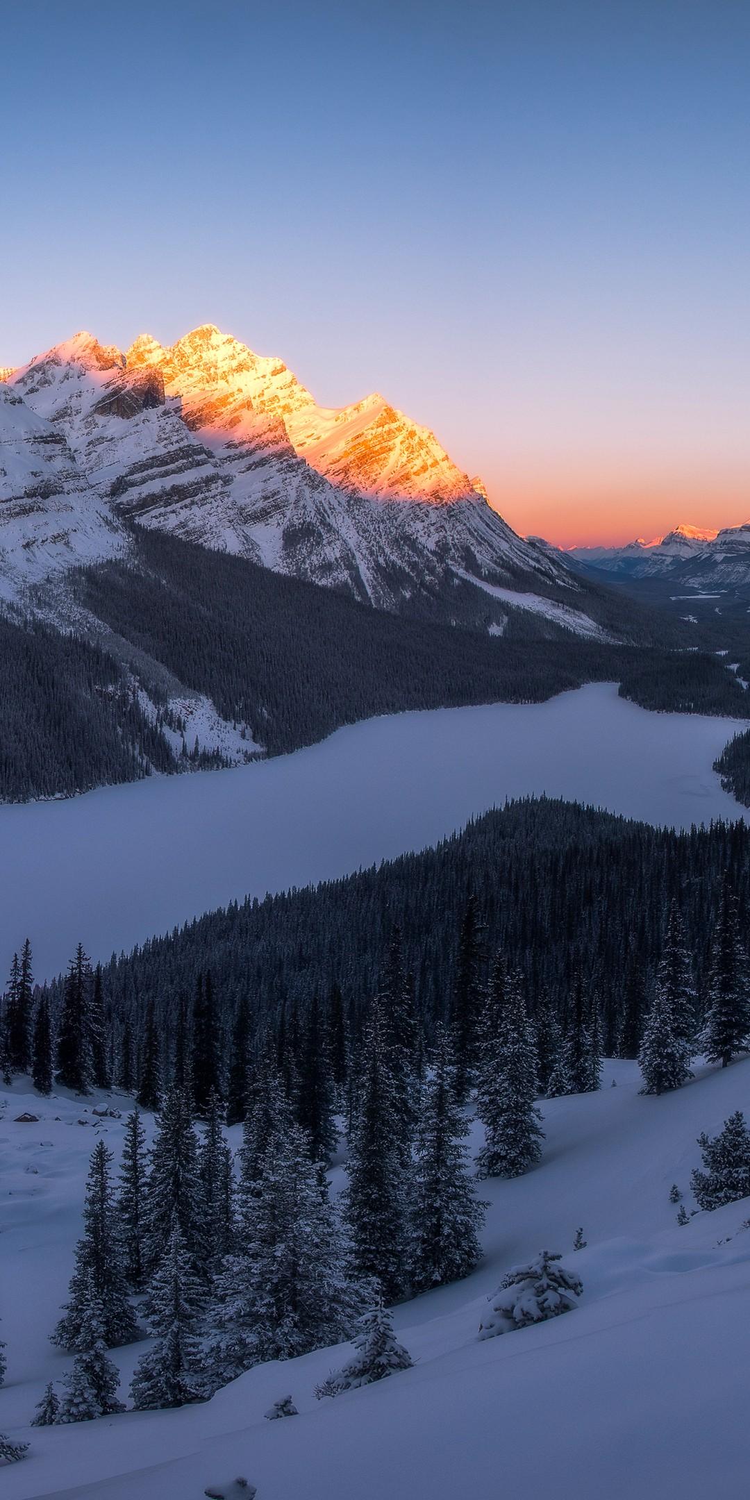 雪山风景壁纸