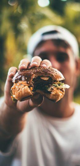 手机壁推荐-来,吃个大汉堡~