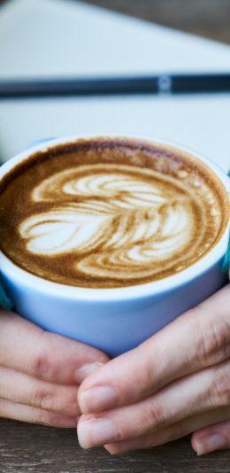 美食系列壁纸:一杯咖啡