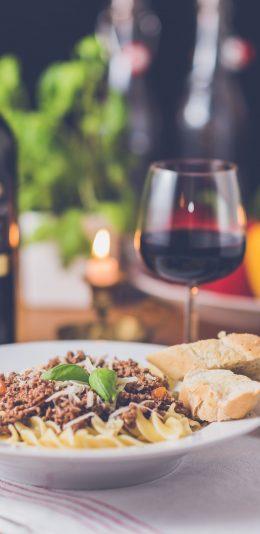 美食系列壁纸:美食和红酒