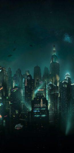 手机壁纸-城市夜景