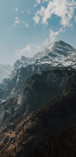 超清雪山风景手机壁纸图片