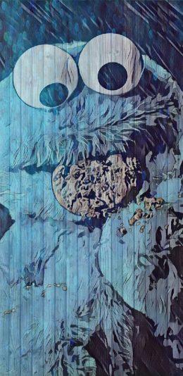 sesame_street芝麻街卡通形象手机壁纸图片