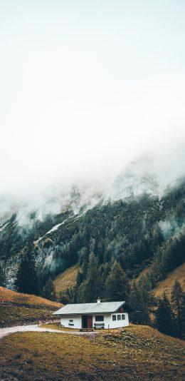 瑞士雪山风景手机壁纸图片
