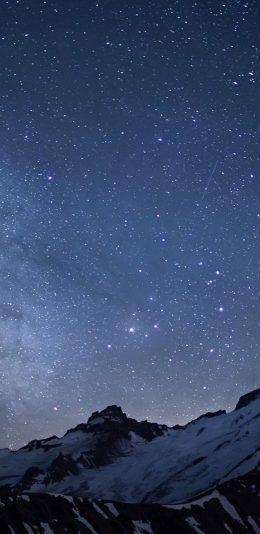 iphoneXS Max手机适配壁纸[2688x1242]|星空夜景
