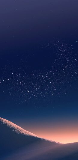 三星s8系统沙漠夜景壁纸