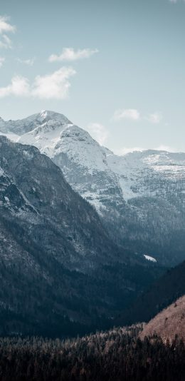 [3840x2160]手机壁纸推荐/雪山风景