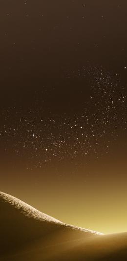 三星s8系统壁纸下载/金色沙漠[原图]