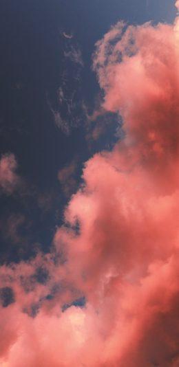 粉红色的天空4K手机壁纸
