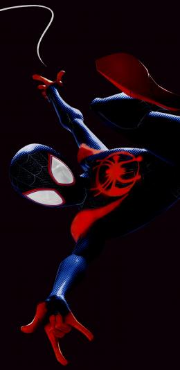 蜘蛛侠黑色壁纸