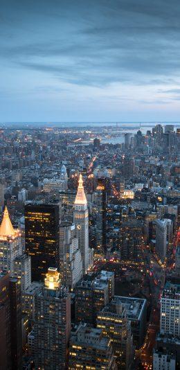 美国纽约城市航拍壁纸
