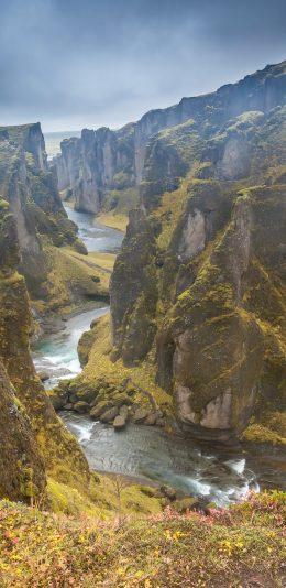[2K 2960x1440]峡谷 流水 风景壁纸图片
