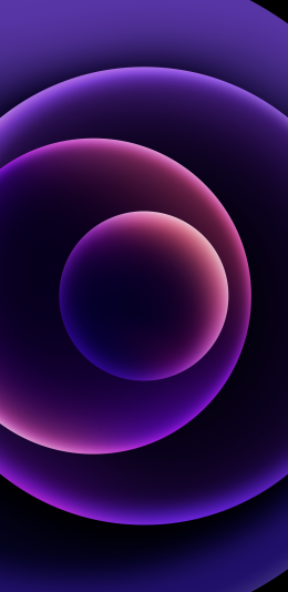下载iPhone 12紫色壁纸(2)