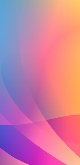 2436x1125 iphone 渐变色彩设计壁纸图片