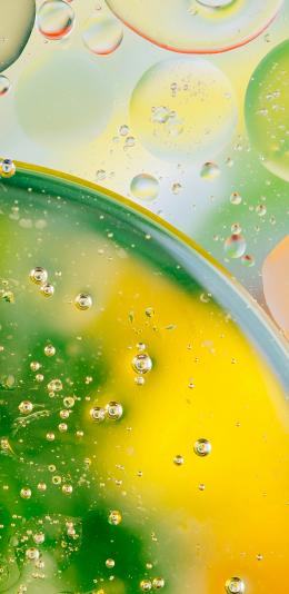 [6MB] 3K 水滴 绿色 渐变 设计 壁纸图片