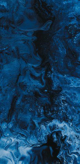 蓝色自然抽象纹理创意精美手机壁纸图片