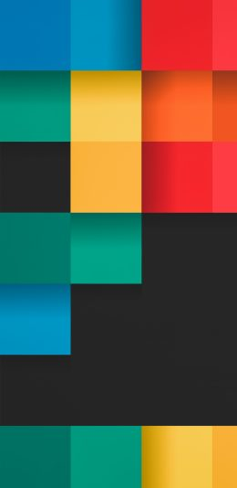 各种颜色的方块设计壁纸