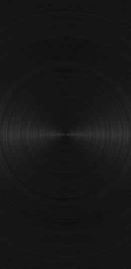 黑色磁盘设计2K手机壁纸