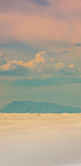 [2436x1125]天空 云彩 风景 渐变 苹果手机壁纸图片